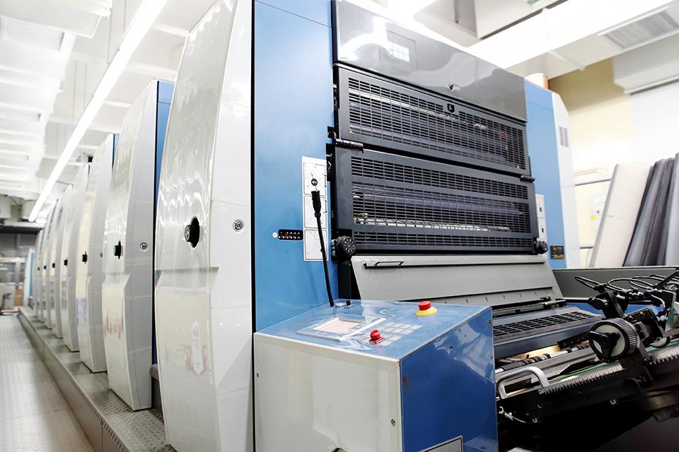 オフセット印刷機器紹介